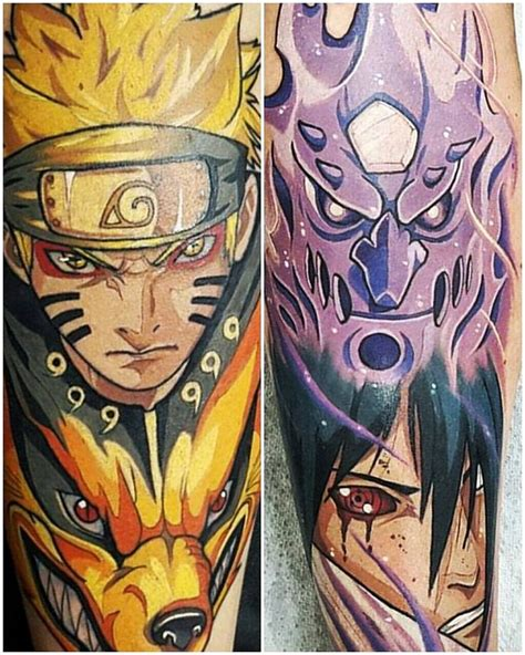 naruto tattoos 119 best anime fav images on dragons animated