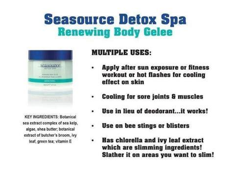 Arbonne Seasource Detox Spa Slimming Wrap by 20 Best Seasource Detox Spa Images On Arbonne