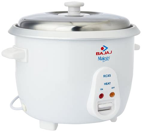 Rice Cooker 10 Liter bajaj rcx 5 1 8 litre electric rice cooker maacarts