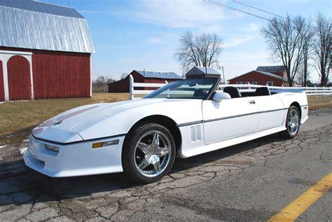 custom 4 door corvette is for the whole family