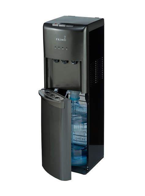 Dispenser It cold bottom loading water dispenser pewter primo
