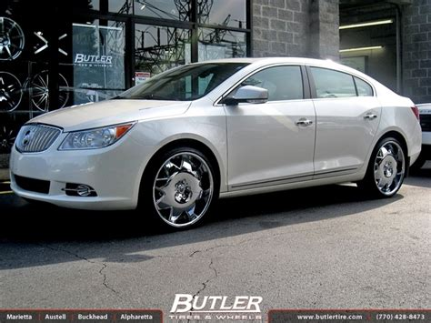 2011 buick lacrosse tire size buick lacrosse with 22in lexani lx2 wheels exclusively
