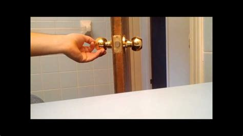 How To Install A Door Knob by How To Install A Door Knob Or Replace An Interior Door