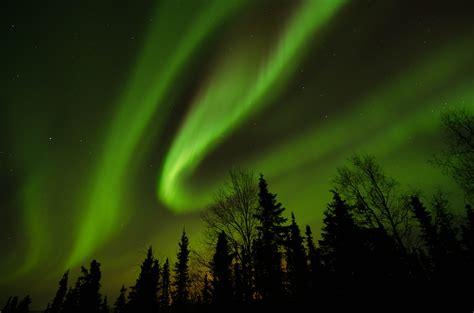 file the northern lights just north of fairbanks alaska