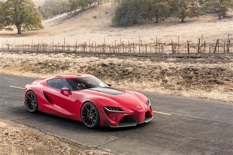 Toyota Ft 1 Concept Toyota Ft 1 Concept Car Gives Us Supra Dreams At 2014 Naias