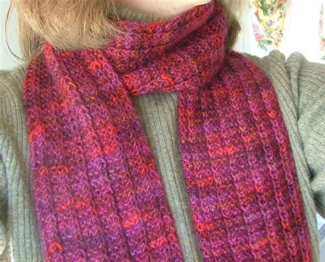 Knitting Pattern 2 Ply Scarf | 25 scarf knitting patterns the best of ravelry beyond