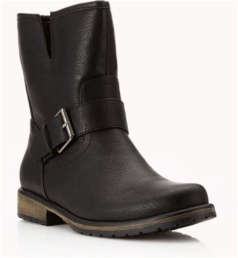 forever 21 shoes boots forever 21 offduty biker boots in black lyst