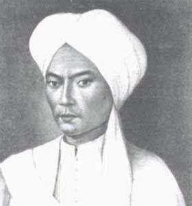 biografi perang diponegoro gambar foto pahlawan nasional indonesia gambar pangeran