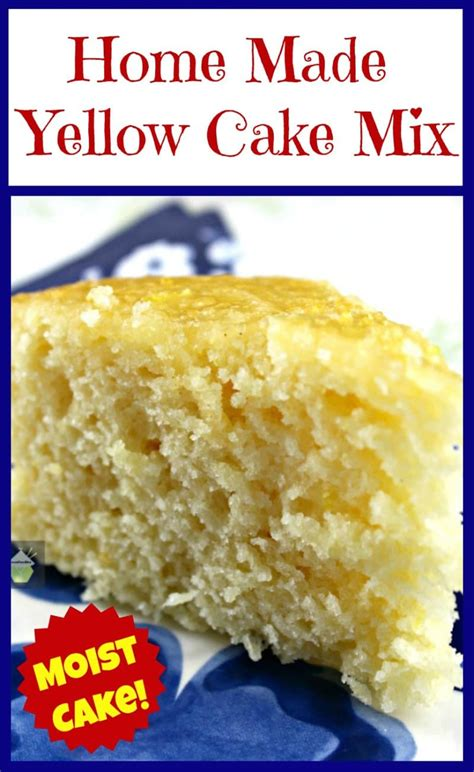 Yellow Cake Mix home made yellow cake mix lovefoodies
