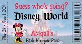 printable pretend disney tickets looking for fun disney world fake tickets to put under the