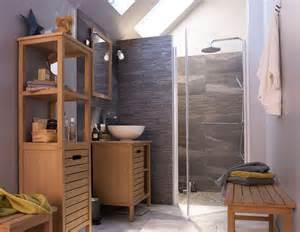 salle de bains bois des photos d inspiration c 244 t 233 maison