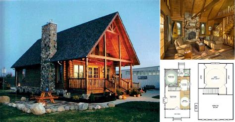 black fork log home plan home design garden
