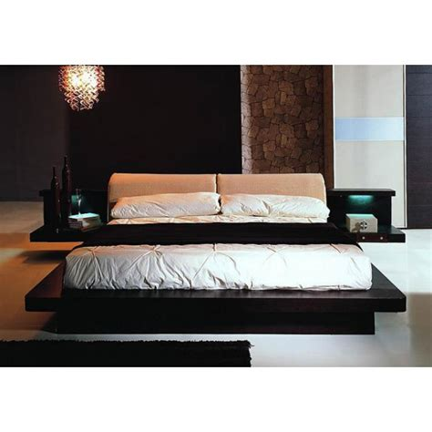 modern platform bedroom set napoli modern platform bedroom set