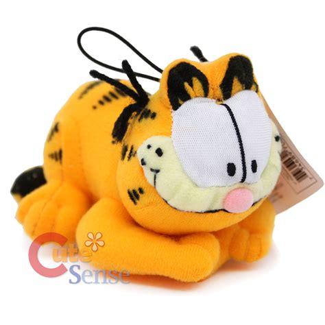 Boneka Garfield Large garfield plush doll figure 5in hanging plush licensed ebay