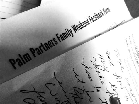 Palm Partners Detox by Personal Letters From Palm Partners Family Program Part Ii
