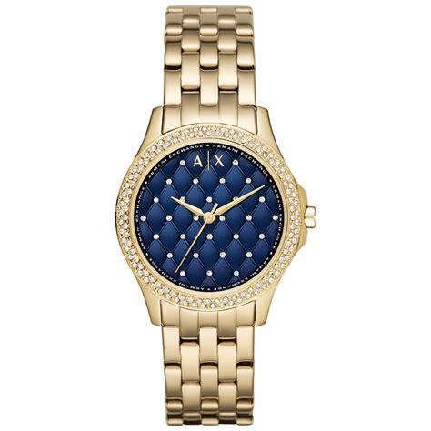 armani exchange s bracelet in blue lyst