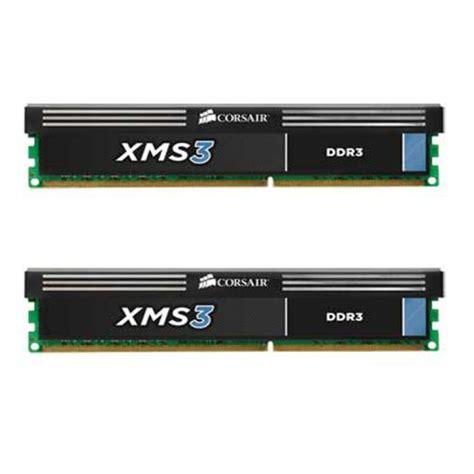 Corsair Memory Pcdesktop 8gb Ddr3 1600 Mhz Pc3 12800 corsair xms3 8gb 2x4gb ddr3 1600 mhz pc3 12800 desktop memory 1 65v