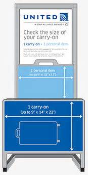 United Baggage Requirements carry on baggage carry on bag policy united airlines