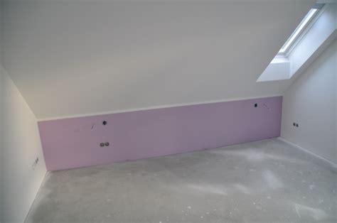 Lila Im Schlafzimmer by Malerarbeiten Eigenleistung Beim Hausbau Hausbau