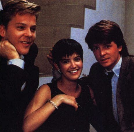 michael j fox and kiefer sutherland quille s films