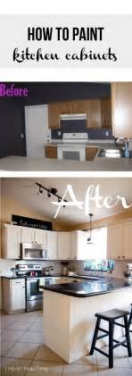How To Paint Kitchen Cabinets How To Paint Kitchen Cabinets White I Heart Nap Time