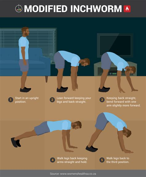 five minute burst circuit workouts for every room well