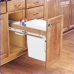 trash can attached to cabinet door fastening a pullout trash can to a cabinet door cabinet