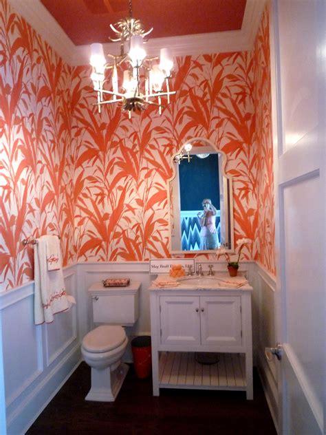 sneak peek hamptons designer showhouse part powder room powder room wallpaper bathroom wallpaper powder room design