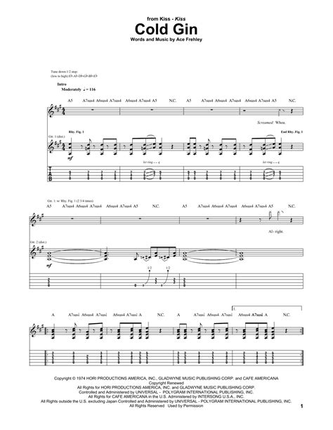 Pink Floyd - Pigs On The Wing (Part 1) - Sheet Music at
