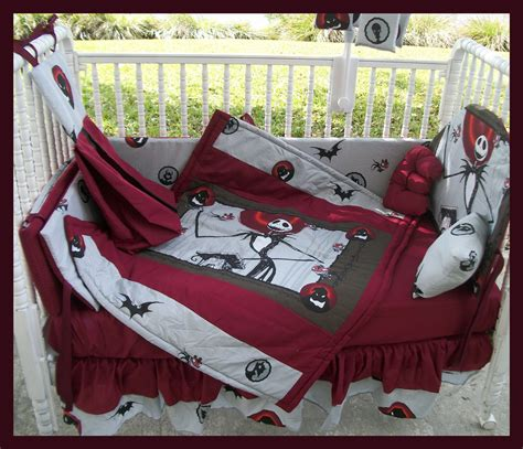 Nightmare Before Christmas Comforter Custom Made To Order New Nightmare Before Christmas Crib