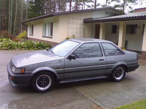 1987 Toyota Corolla Ae86 Ae86 1987 Toyota Levin Specs Photos Modification Info