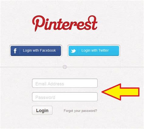 pinterest login pin by sherrie likes up on marketing for business form design login form design