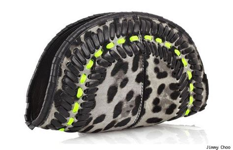 Jimmy Choo Ponyskin Leather Clutch Review by The Luxist Top Ten Handbags Of 2010