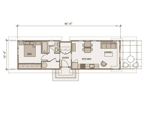 Floor Plans Modular Homes Stillwater Dwellings Mini Two Floor Plan Modernprefabs