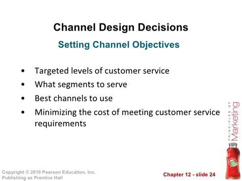 channel design decisions management kotler pom13e instructor 12