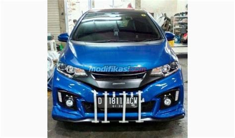 Bodykit Add On Mugen Jazz Gk5 2014 2016 Up Hqf By Charis Auto Jazz paket set bodykit mugen honda all new jazz gk5 2014 up