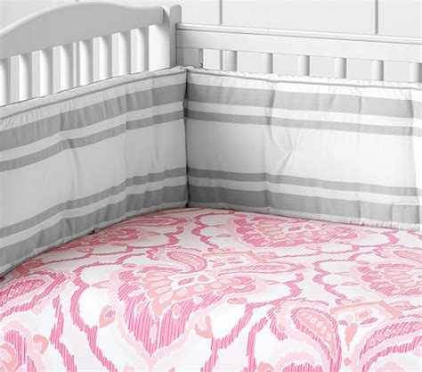 oversized crib mattress oversize medallion ikat crib fitted sheet pottery barn