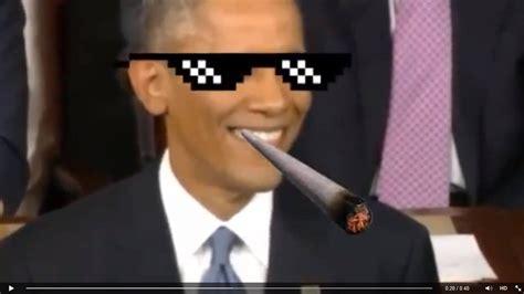 Obama Sunglasses Meme - barack obama thug life youtube