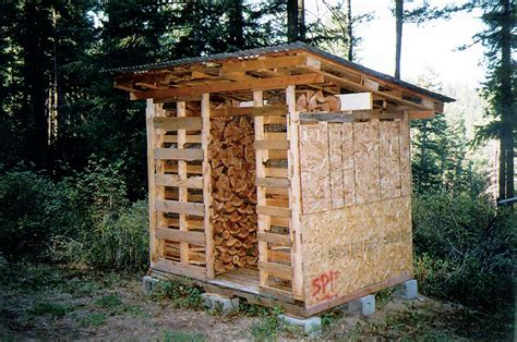 Wood Shed Building by Building A Wood Shed Shed Blueprints