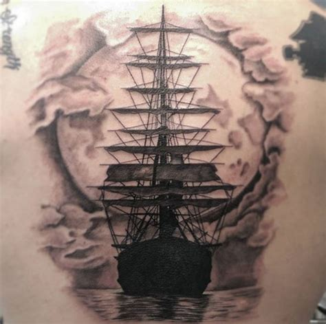 battleship tattoo designs 50 amazing ship tattoos you won t believe are real