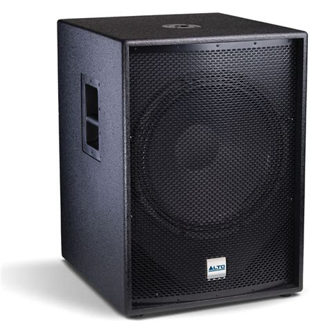 Speaker Toto Sound 18 Inch alto tssub18 18 quot inch active dj bass bin subwoofer disco pa speaker 1200w