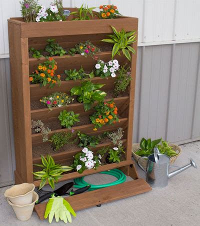 How To Save Money On A Cedar Vertical Planter Outdoors Vertical Garden Planter