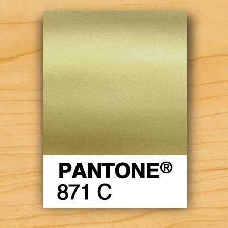 gold pantone color gold metallic pantone colour for print graphic design