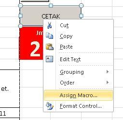 membuat form cetak di excel membuat tombol cetak di excel