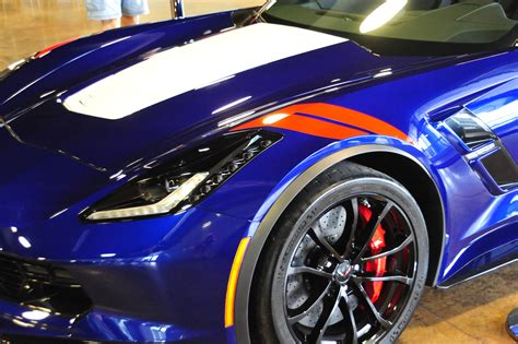 new blue color four new 2017 corvette colors showcased at michelin ncm