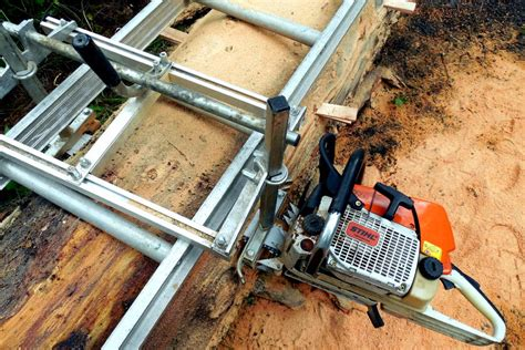 Off Grid Home Sweet Home Alaskan Chainsaw Mill