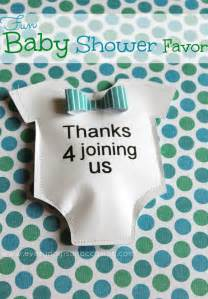 Baby Shower Favors Ideas Diy by Diy Baby Shower Favor