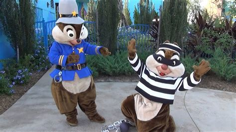 chip n dale costume chip and dale in cop and bandit halloween costumes at