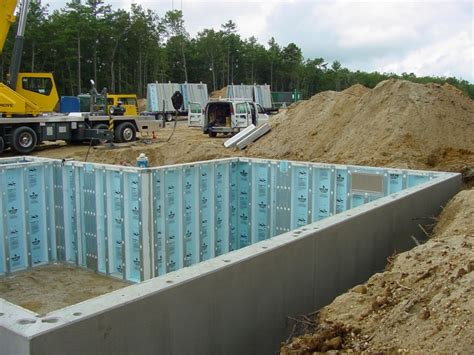concrete basement walls superior walls 174 xi precast concrete foundation system now evaluated for use in canada