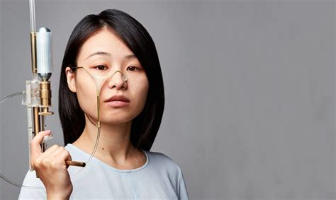 design academy eindhoven man and wellbeing designer yi fei chen fights authority with a gun that